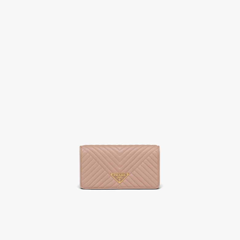 Quilted nappa leather mini-bag