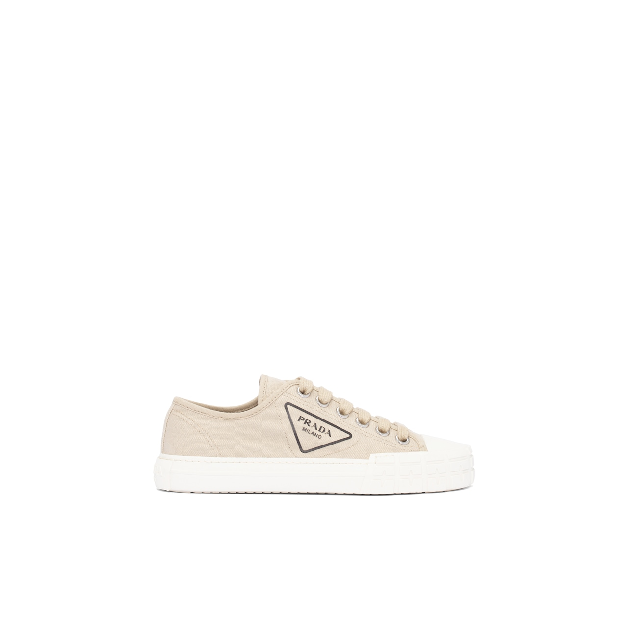 Cotton canvas sneakers 3
