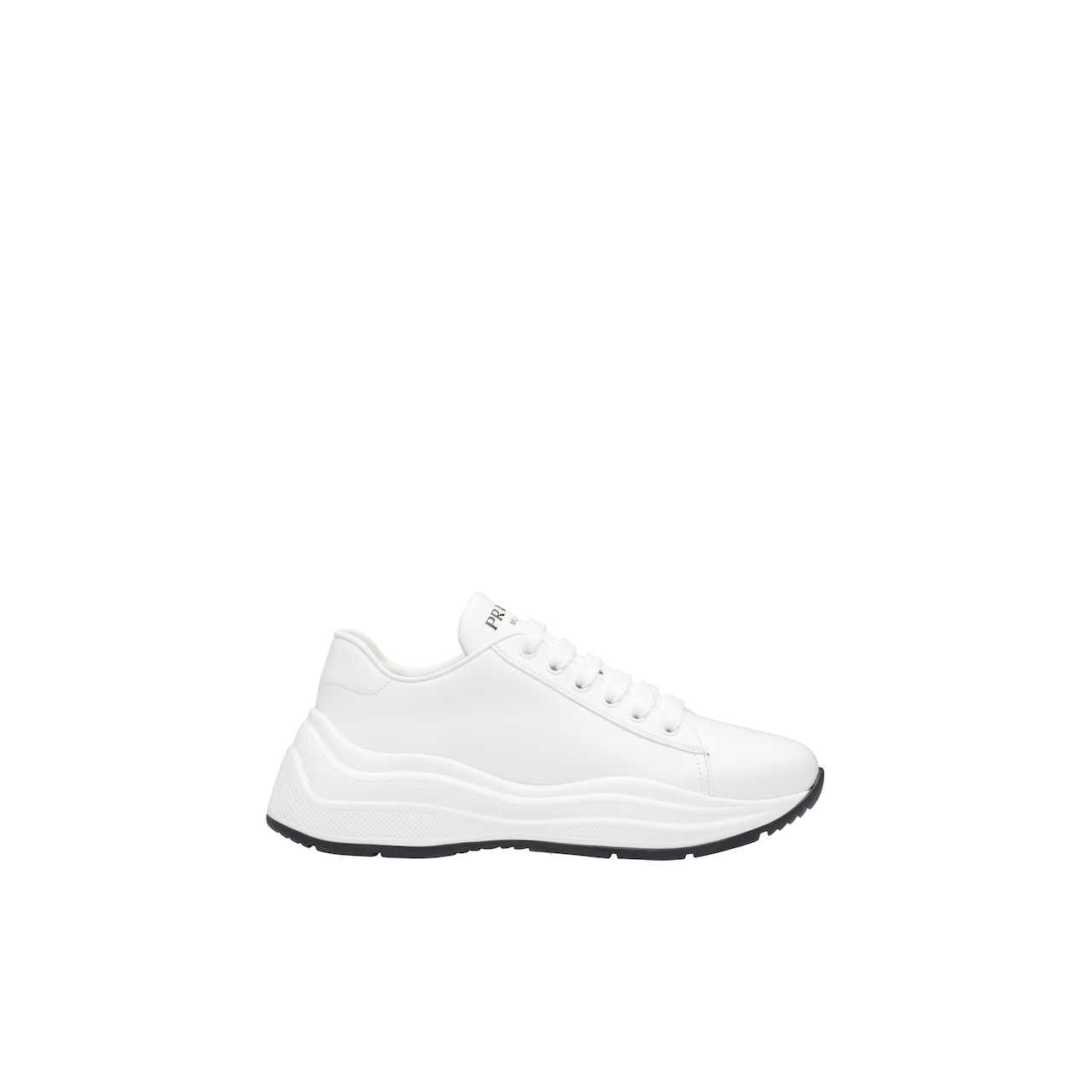 Prada Brushed leather sneakers 1