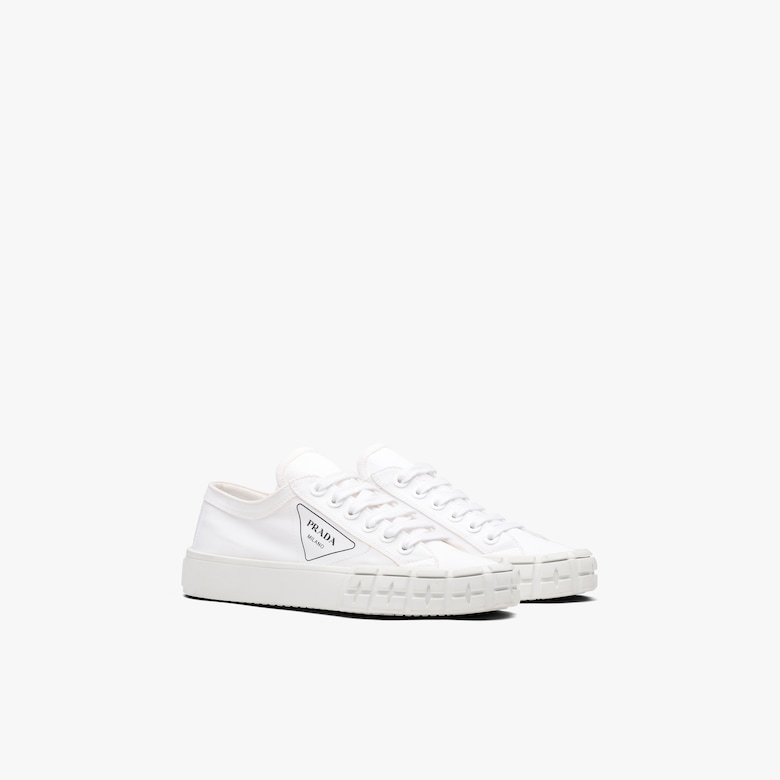 Prada Gabardine fabric sneakers - Woman