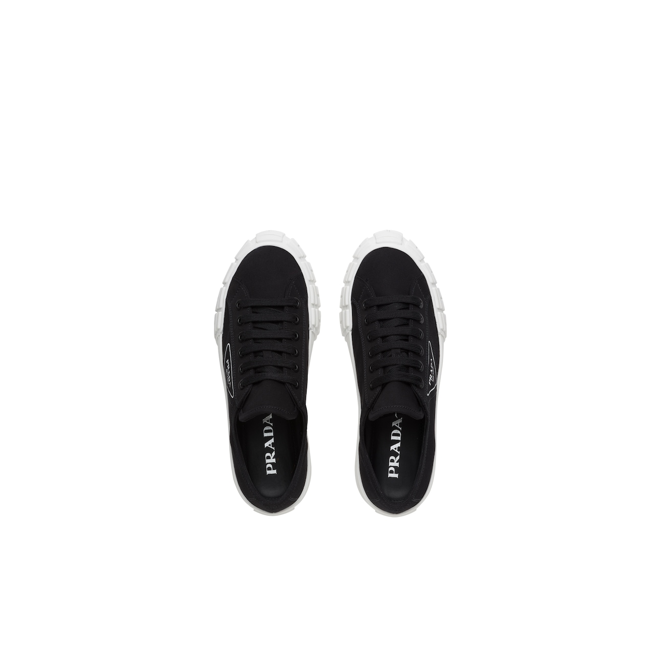 Prada Gabardine fabric sneakers 4