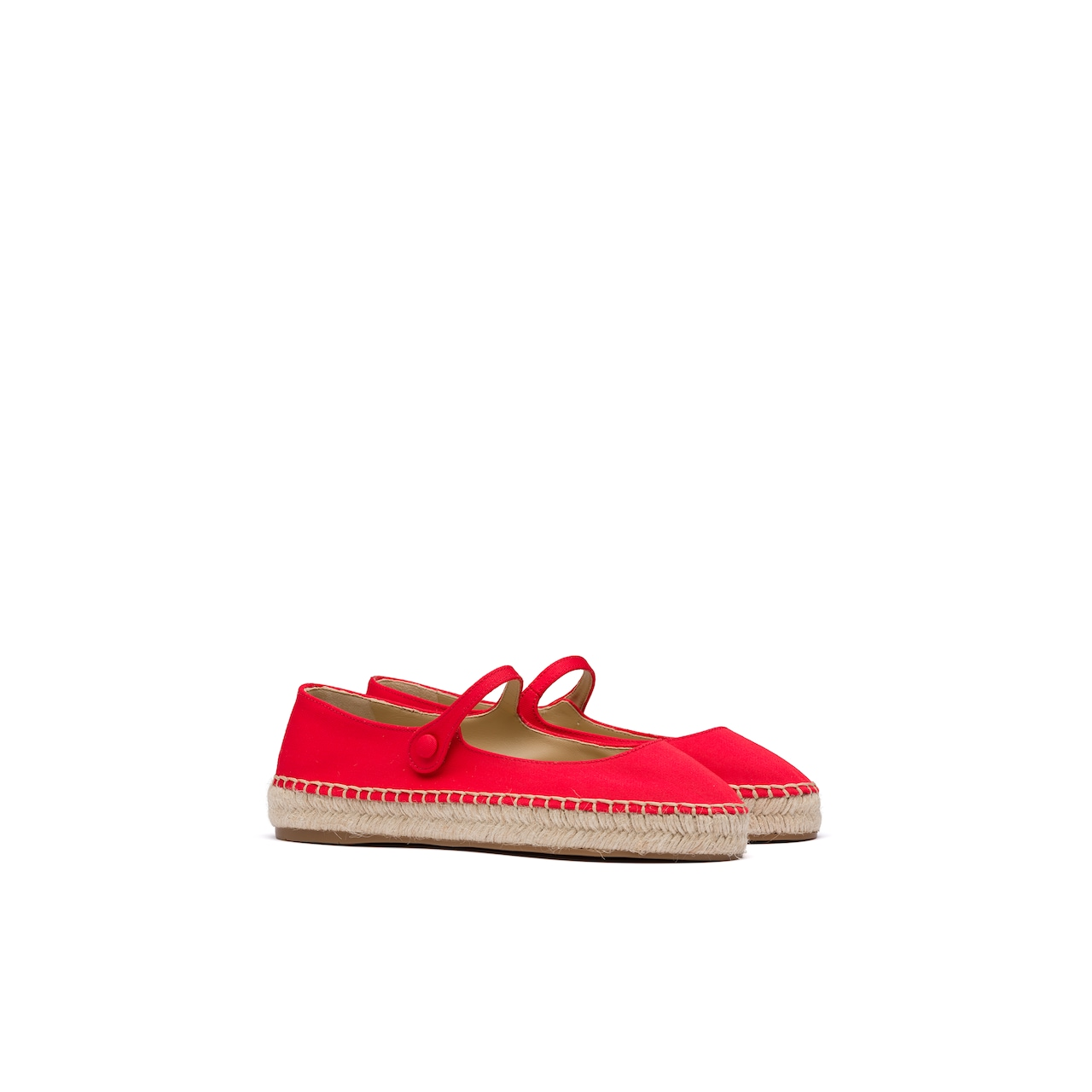 Prada 华达呢芭蕾平底鞋 1