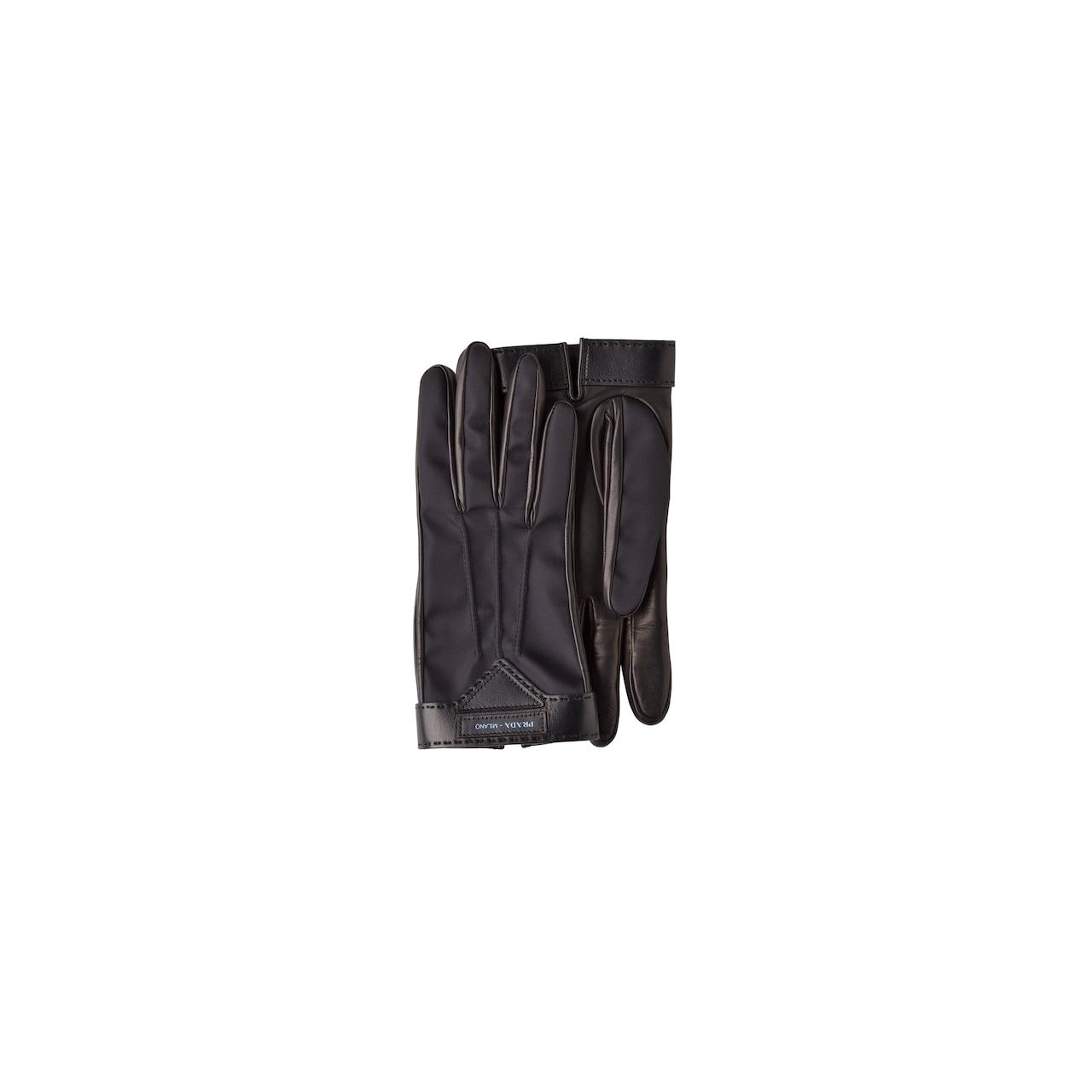 Handschuhe aus Nylon und Nappaleder