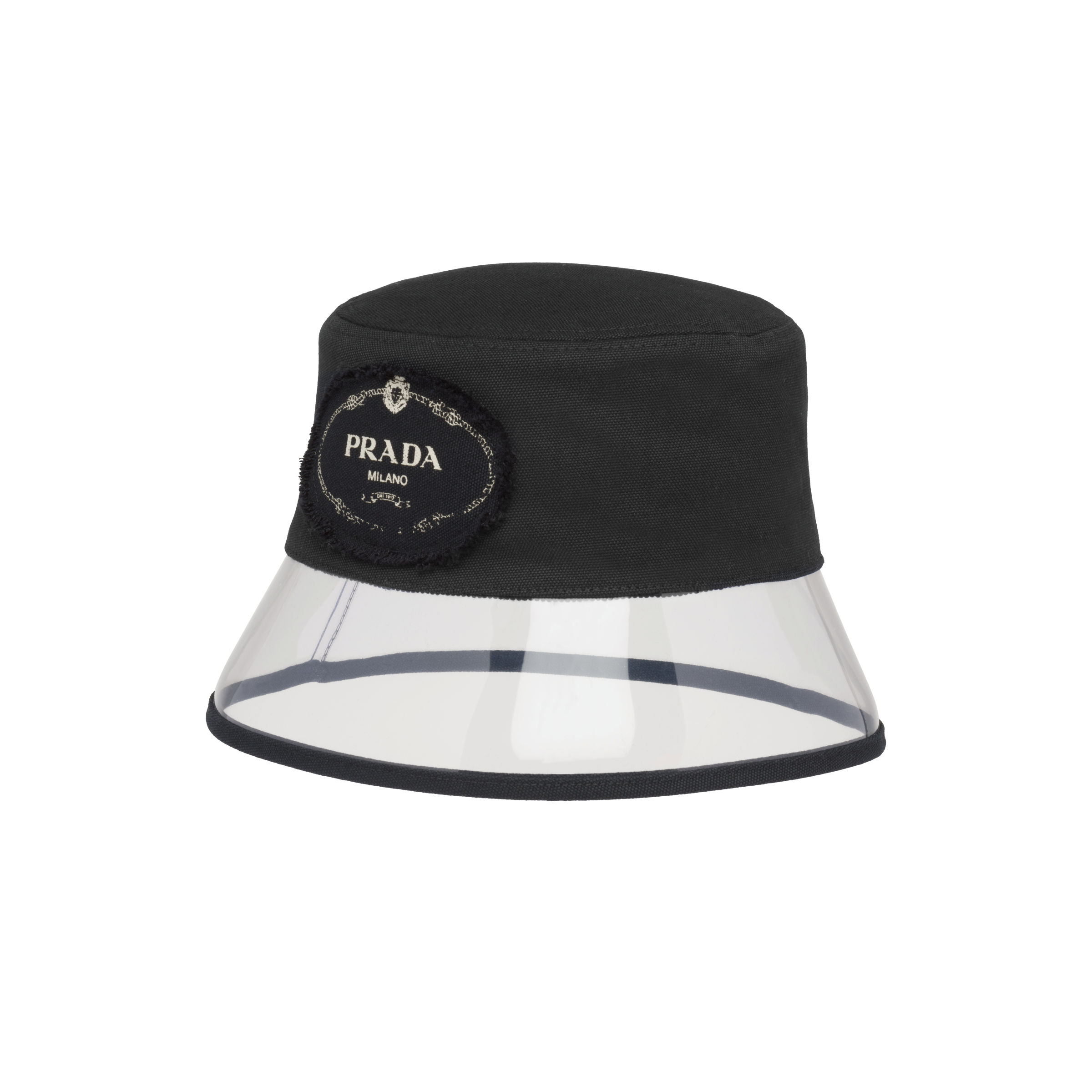 c8e6f62337fca4 Fabric and Plexiglas hat. 1HC137_BS2