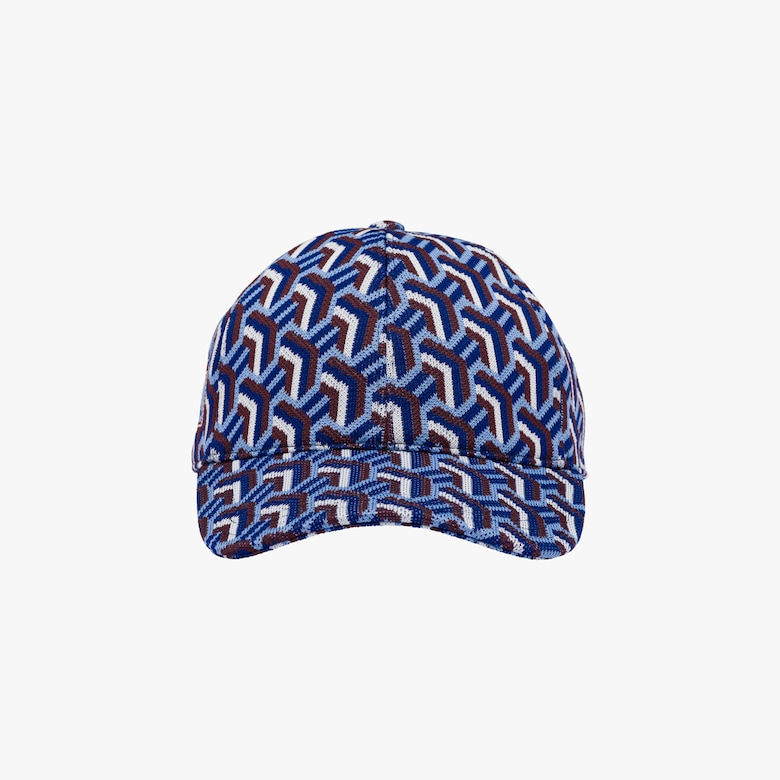 Cappello baseball in jacquard