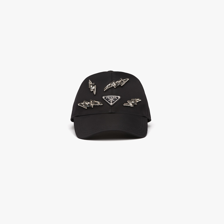 Prada Embellished baseball cap - Woman