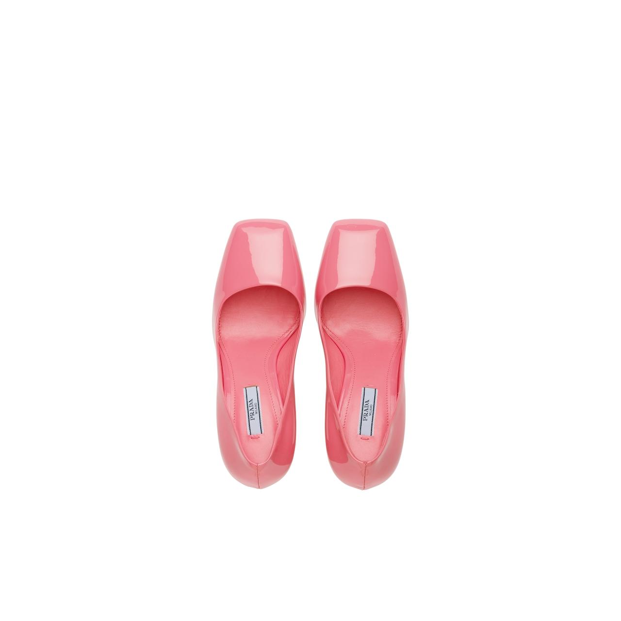 Prada 漆皮高跟鞋 4