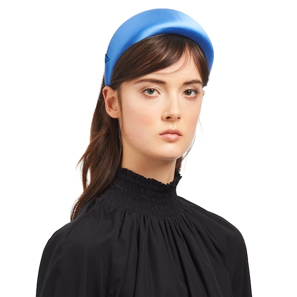 Prada satin headband 3