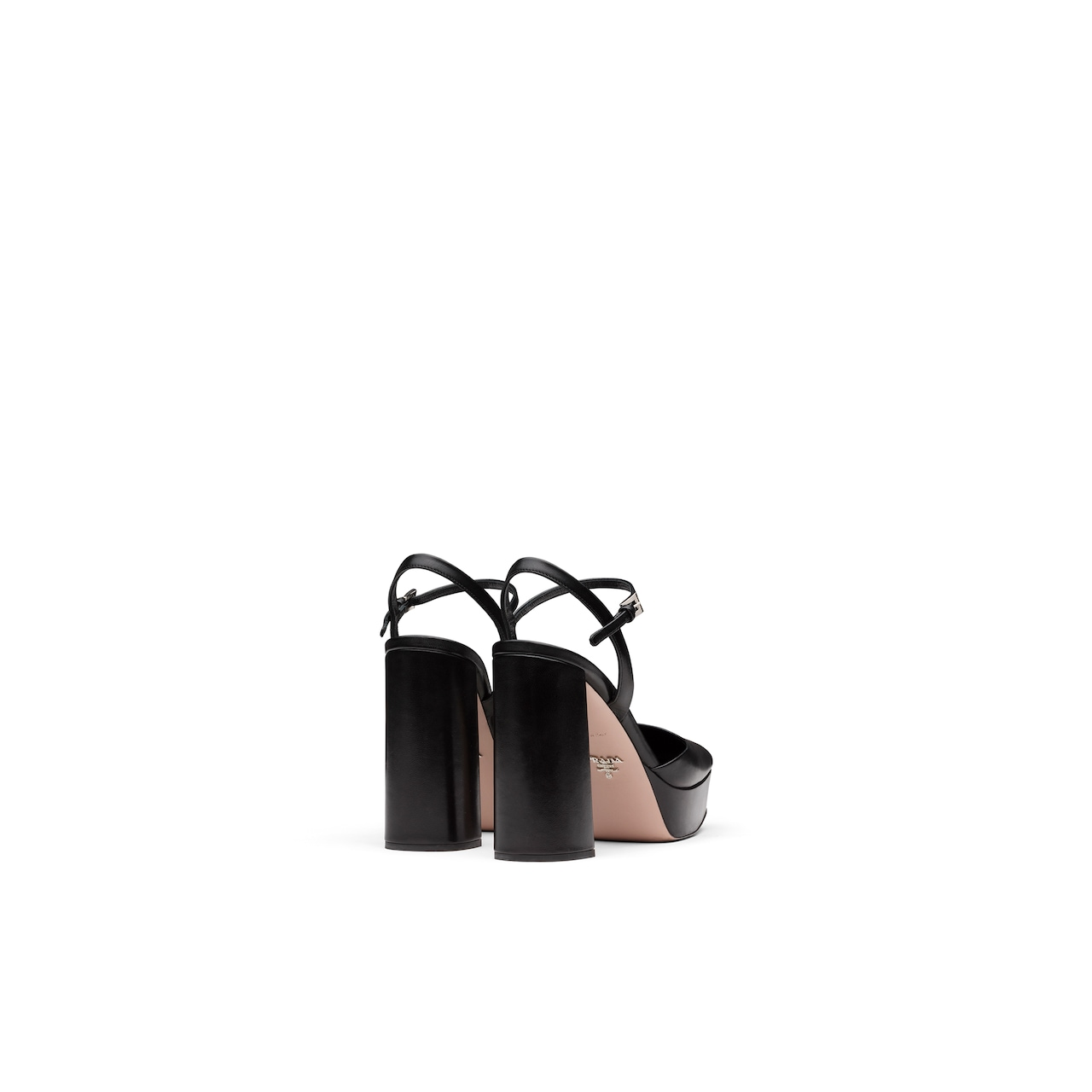 Leather square toe sandals 5