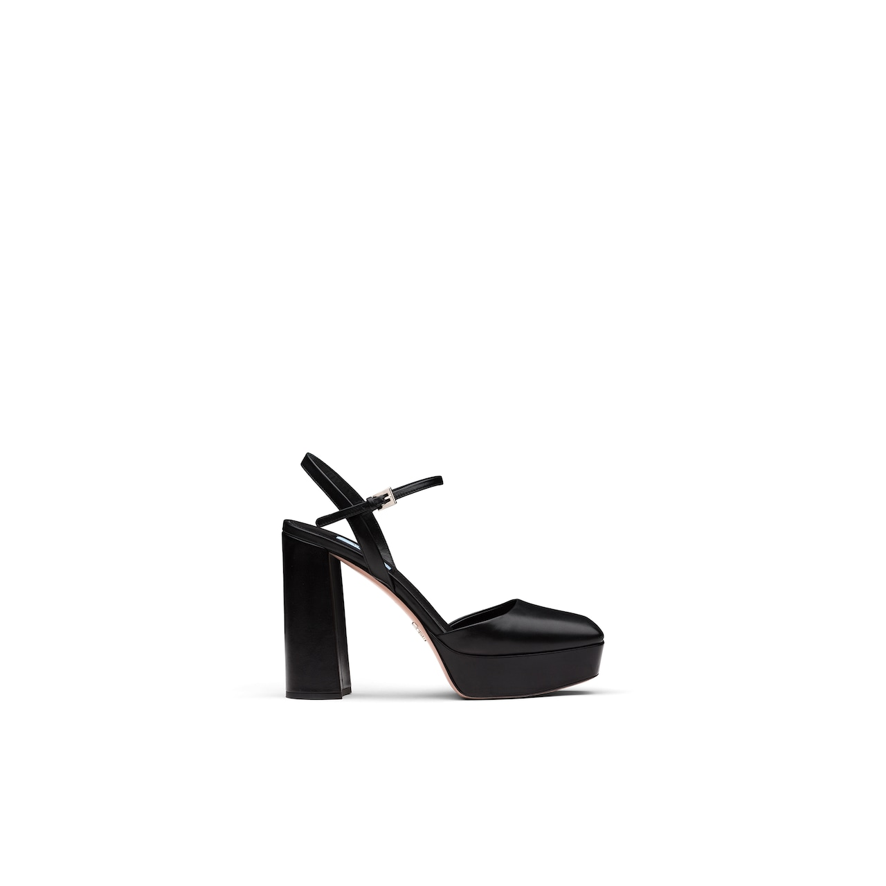 Leather square toe sandals 2
