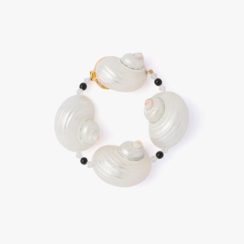Prada Silver bracelet with shells - Woman