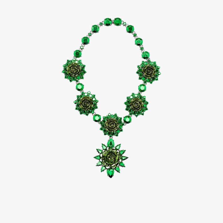 Prada Rose Jewels necklace
