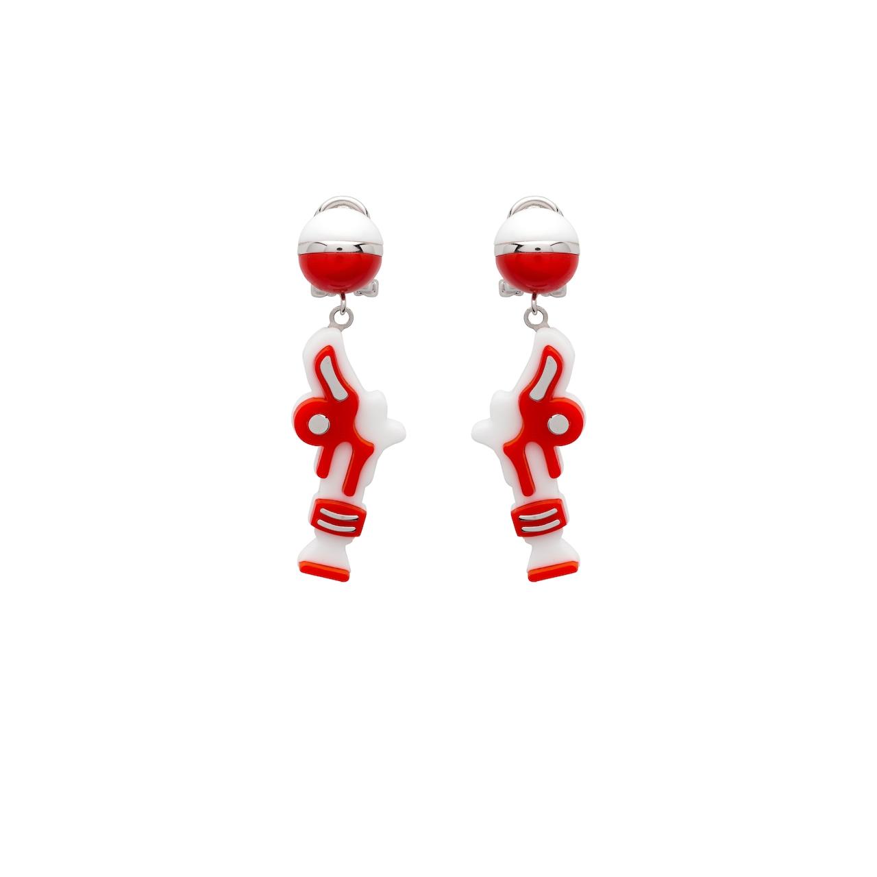 b57682e71 Prada Pop earrings | Prada - 1JO238_2BZM_F0D17