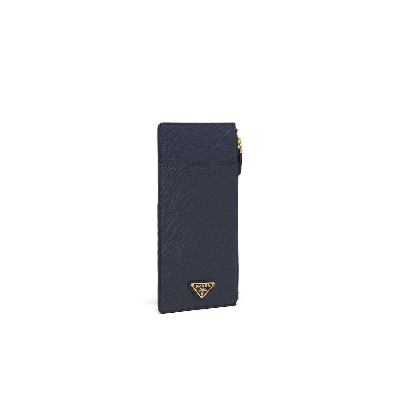 Prada Saffiano 皮革长钱夹 4