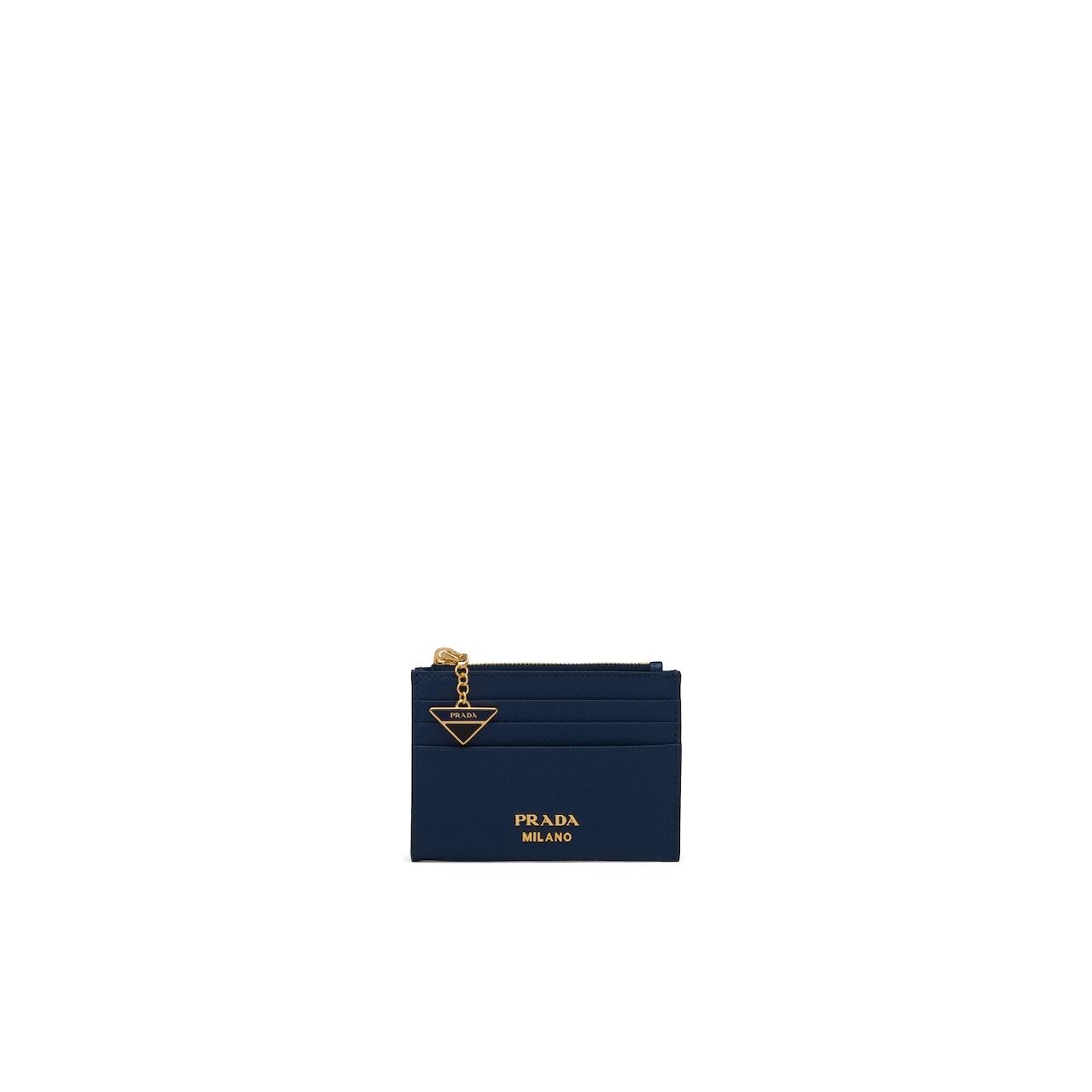 Prada Saffiano 皮革卡片夹 1