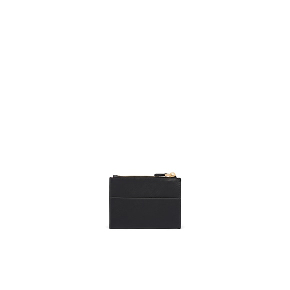Prada Saffiano leather credit card holder 2