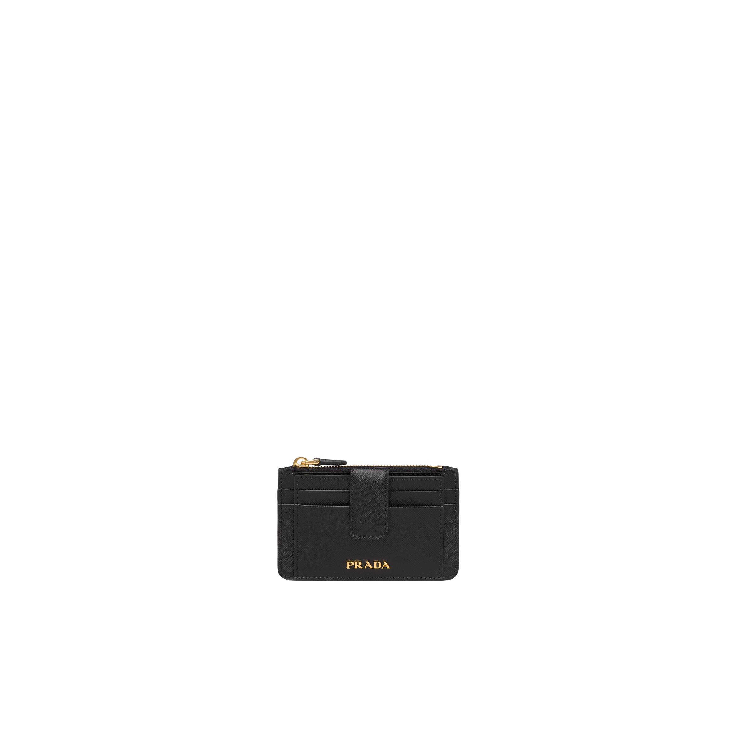 2f93014c1e08a8 Saffiano leather credit card holder | Prada - 1MC038_QWA_F0002