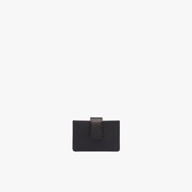 Prada Saffiano Leather Cardholder - Woman