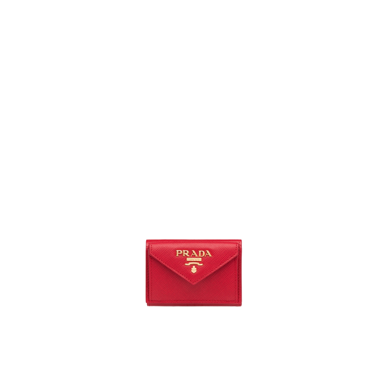 Prada Small Saffiano leather wallet 1