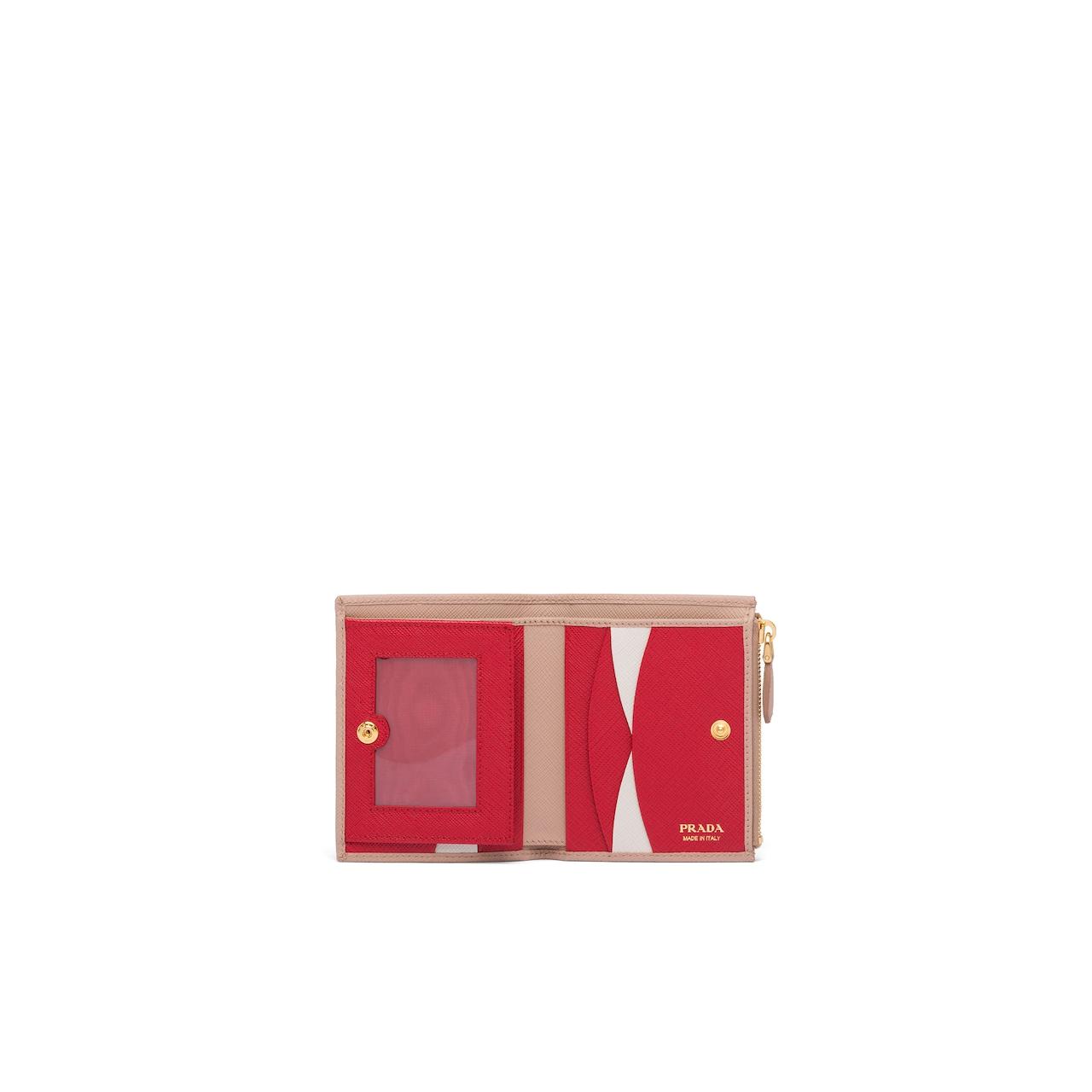 Prada Saffiano 皮革小号钱夹 2