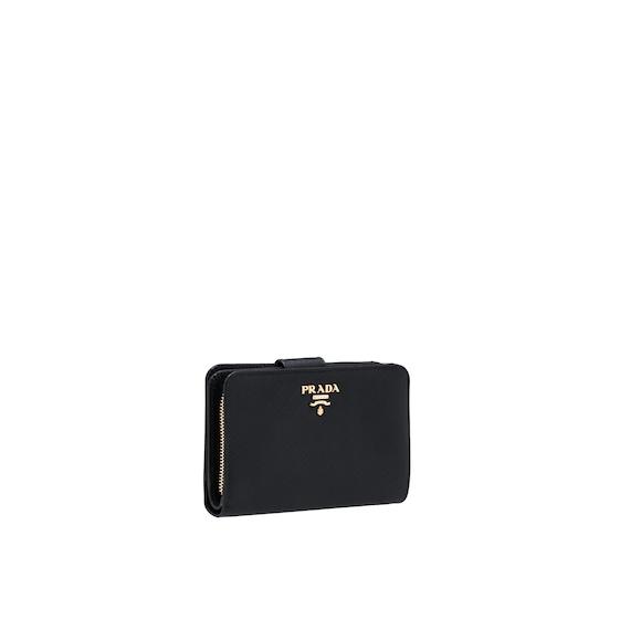 Medium Saffiano Leather Wallet