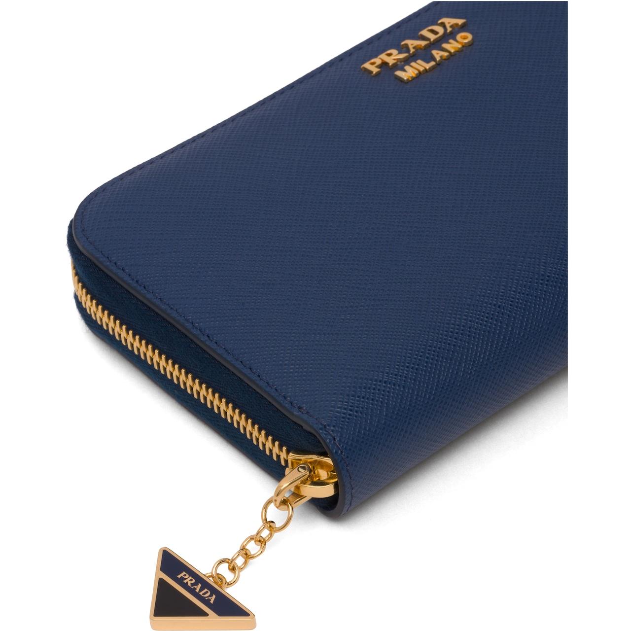 Prada Saffiano leather wallet 6