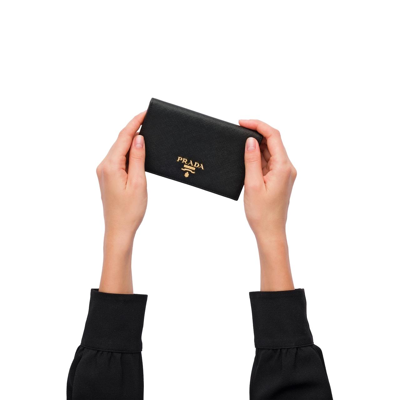 Prada Saffiano 皮革钱夹 3
