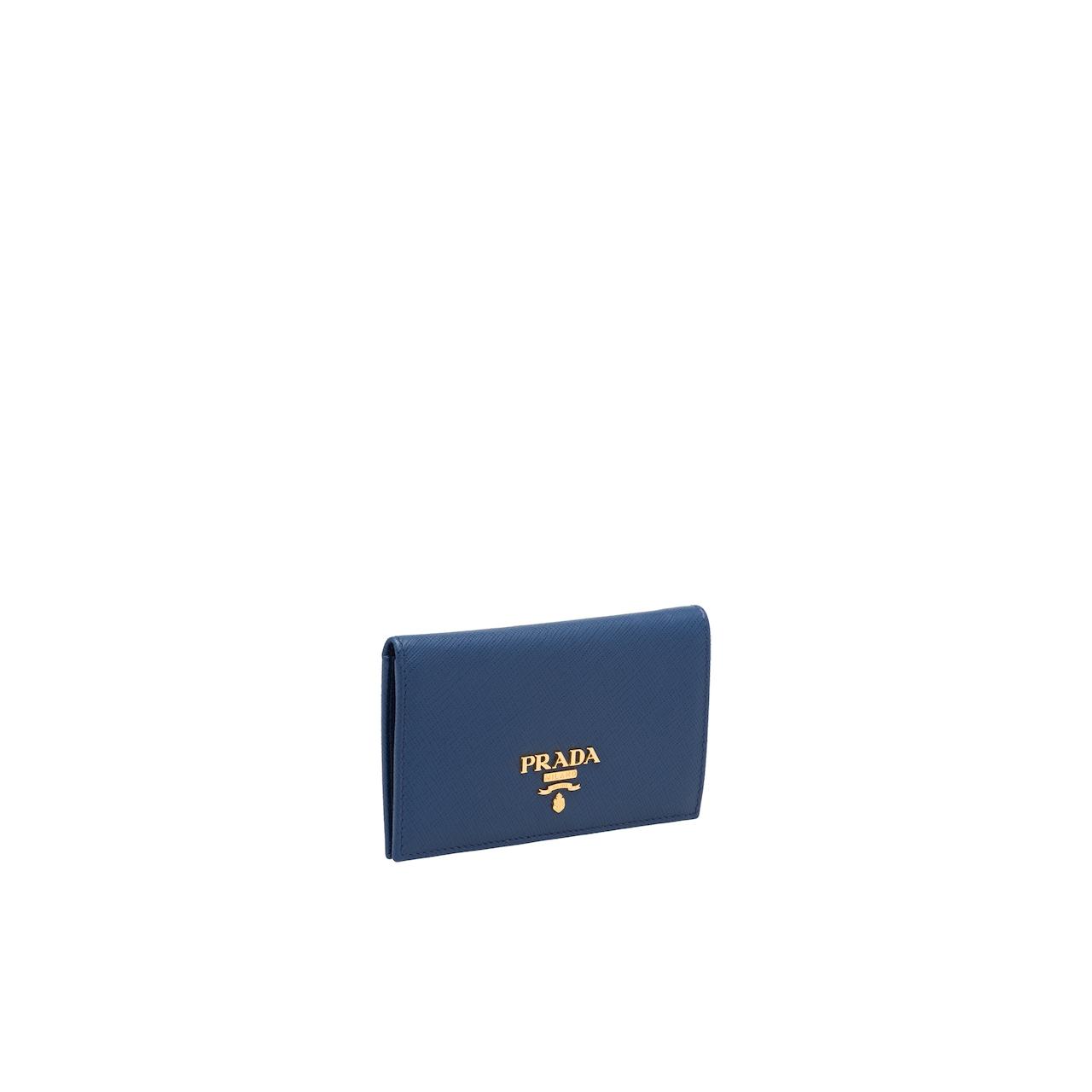 Prada Saffiano 皮革钱夹 4