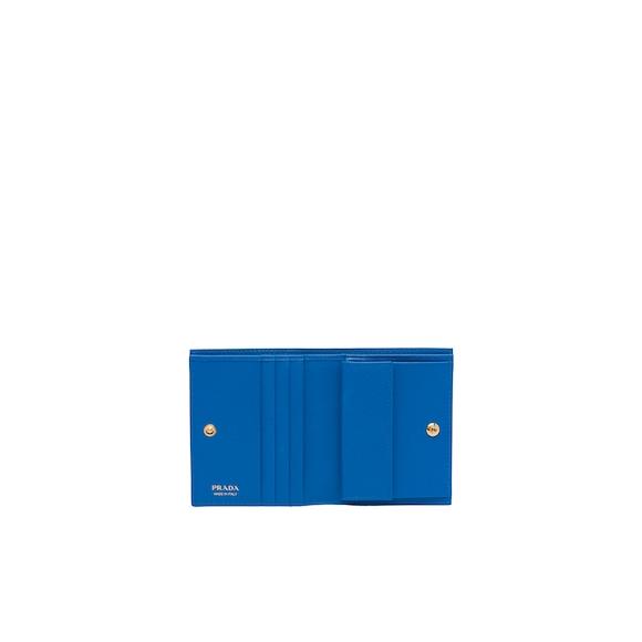 Prada Small Saffiano Leather Wallet 3