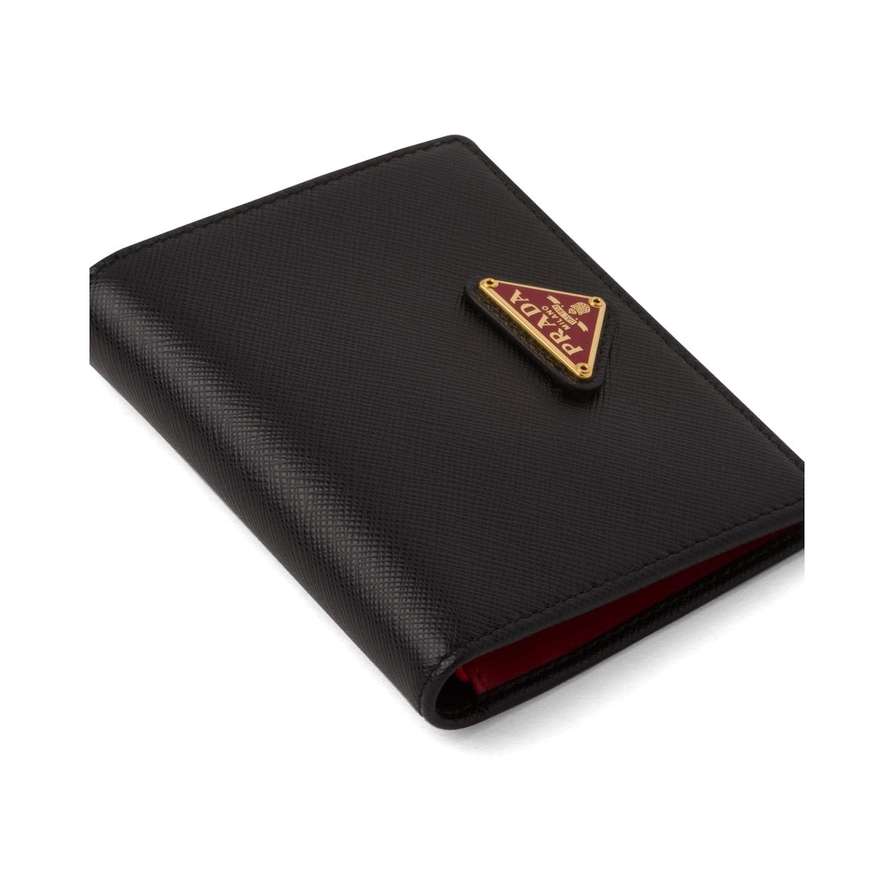 Prada Small Saffiano leather wallet 6
