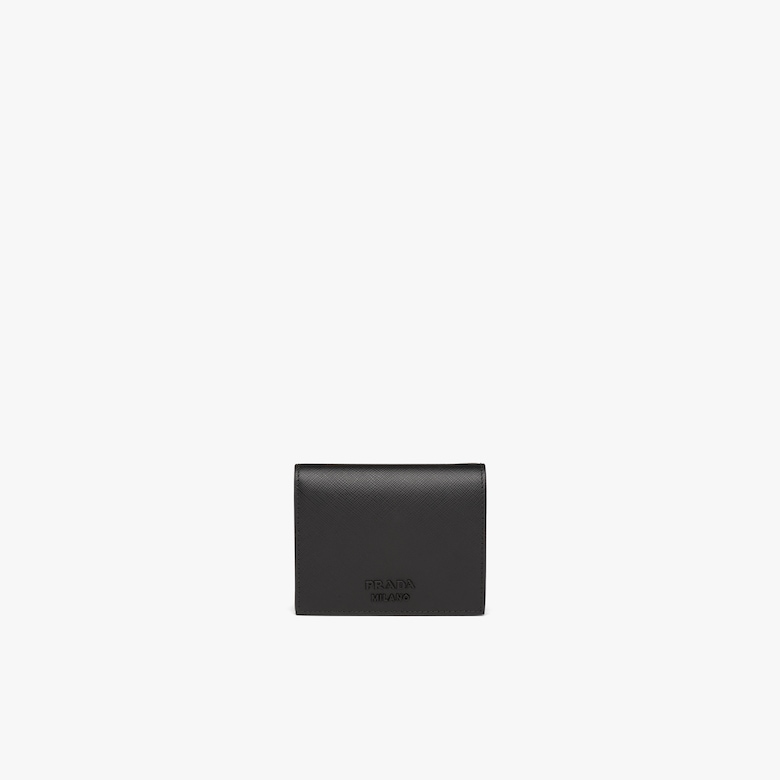 Prada Small Saffiano leather wallet - Woman
