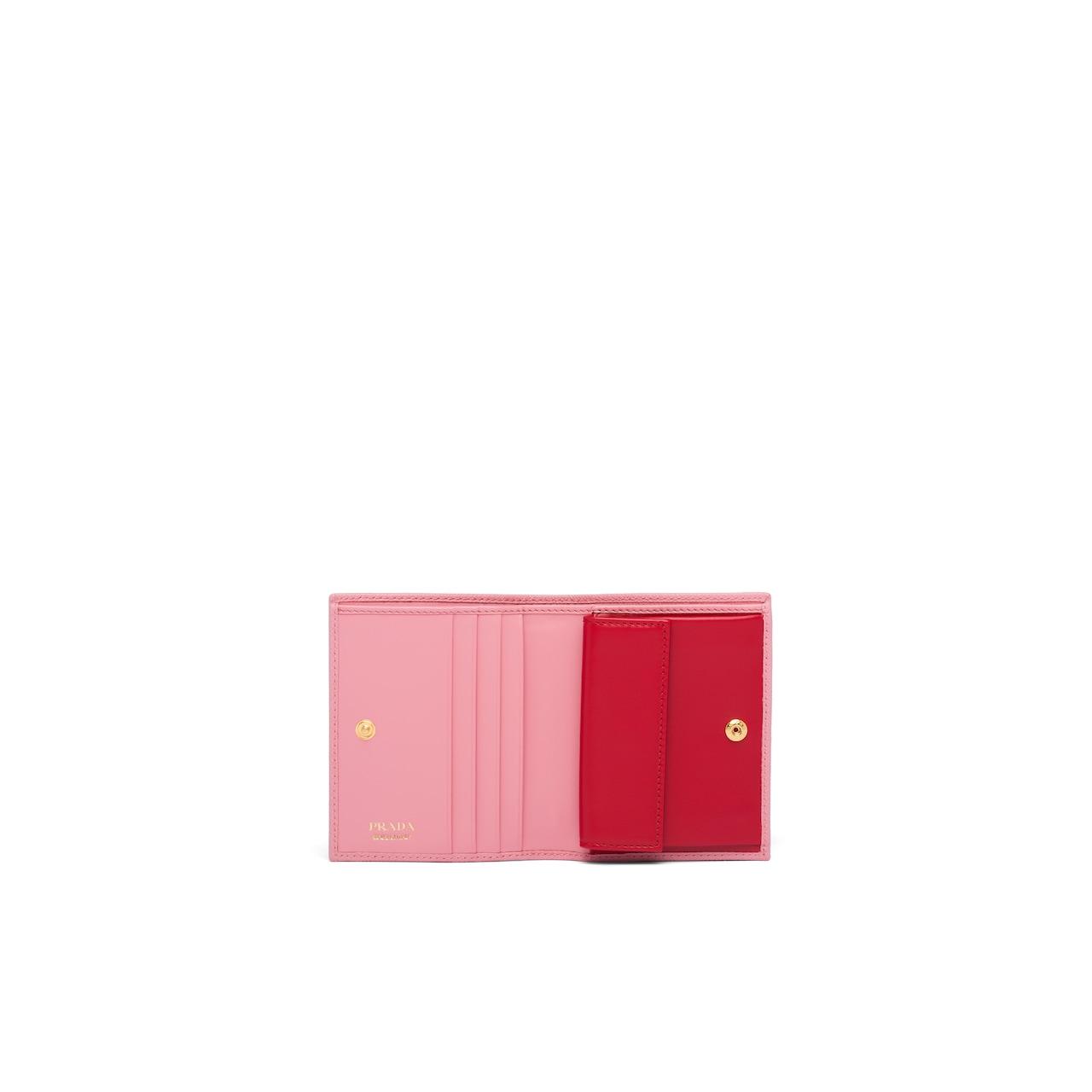Prada Small Saffiano leather wallet 2