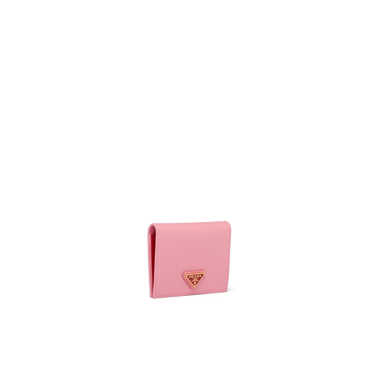 Prada Small Saffiano leather wallet 4