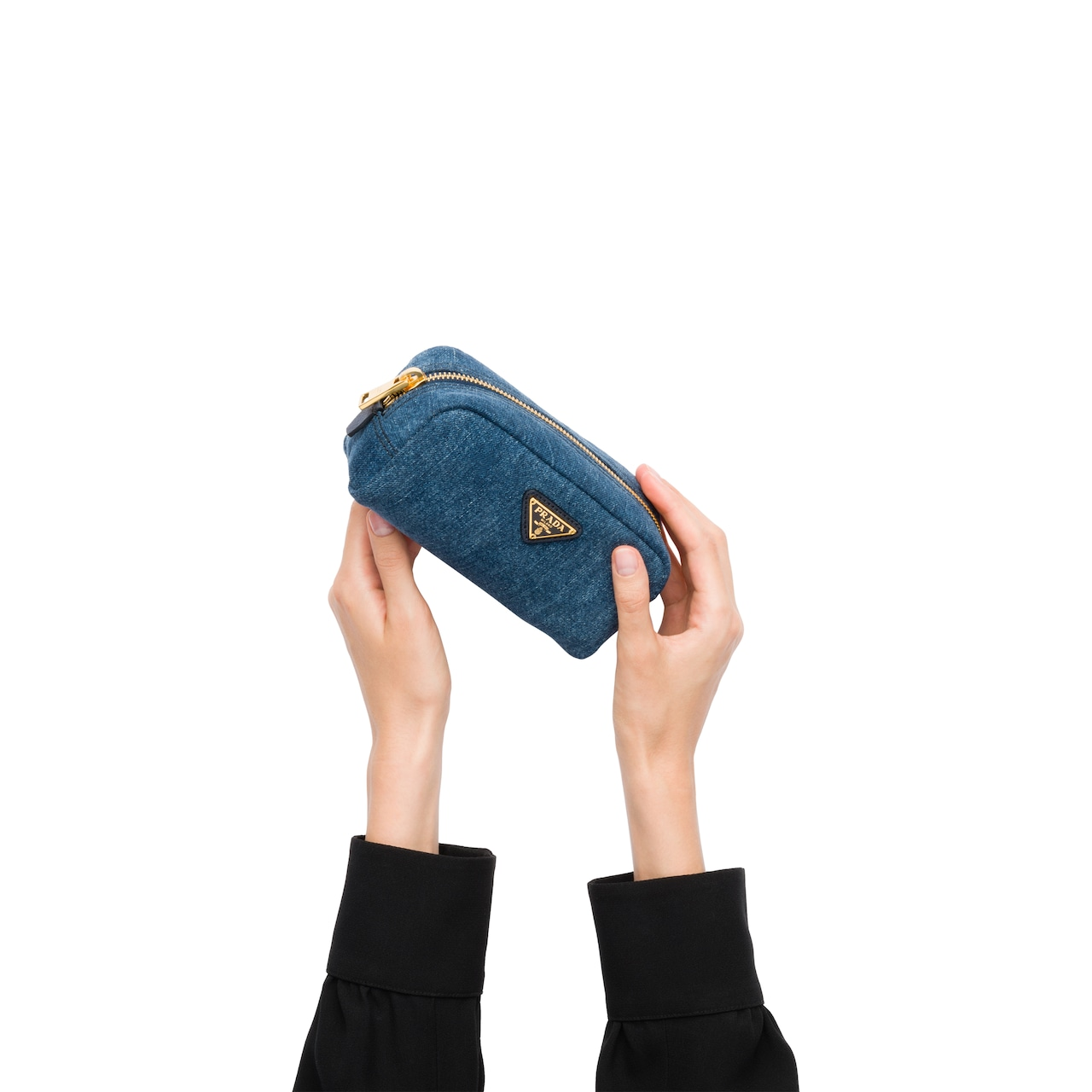 Denim Cosmetic Pouch 3