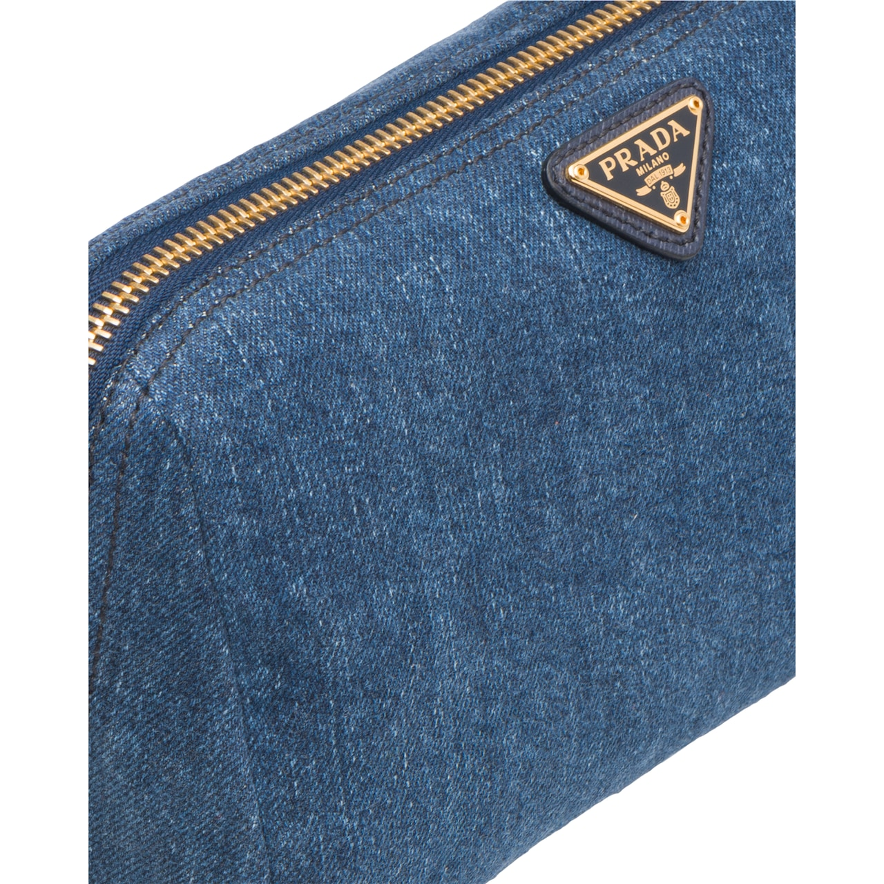 Prada Denim Cosmetic Pouch 6
