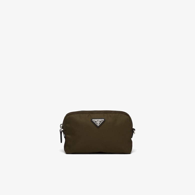 Prada Fabric Cosmetic Pouch - Woman