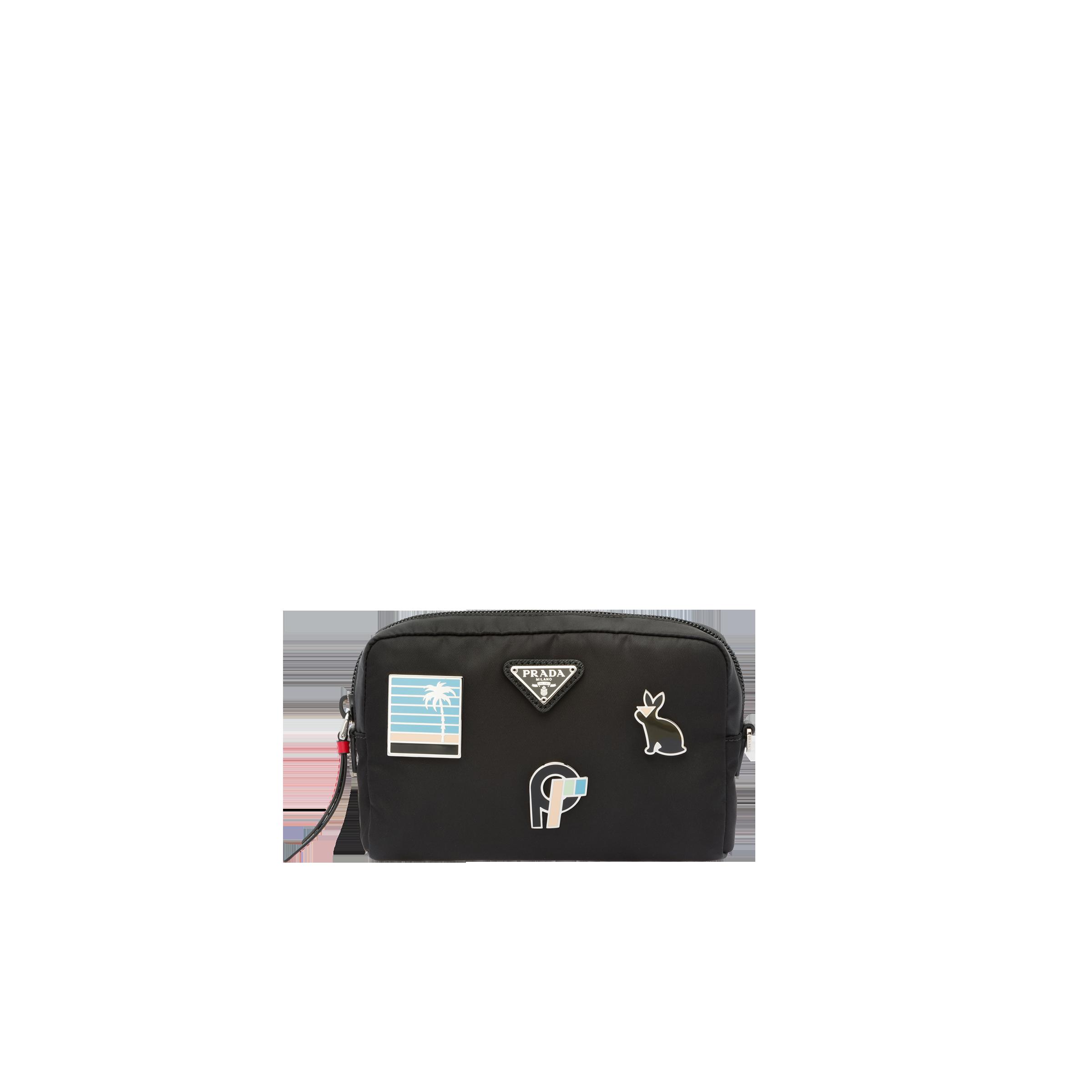 a7967d8631d5 Nylon logo pouch   Prada - 1NE021_2CCB_F0002
