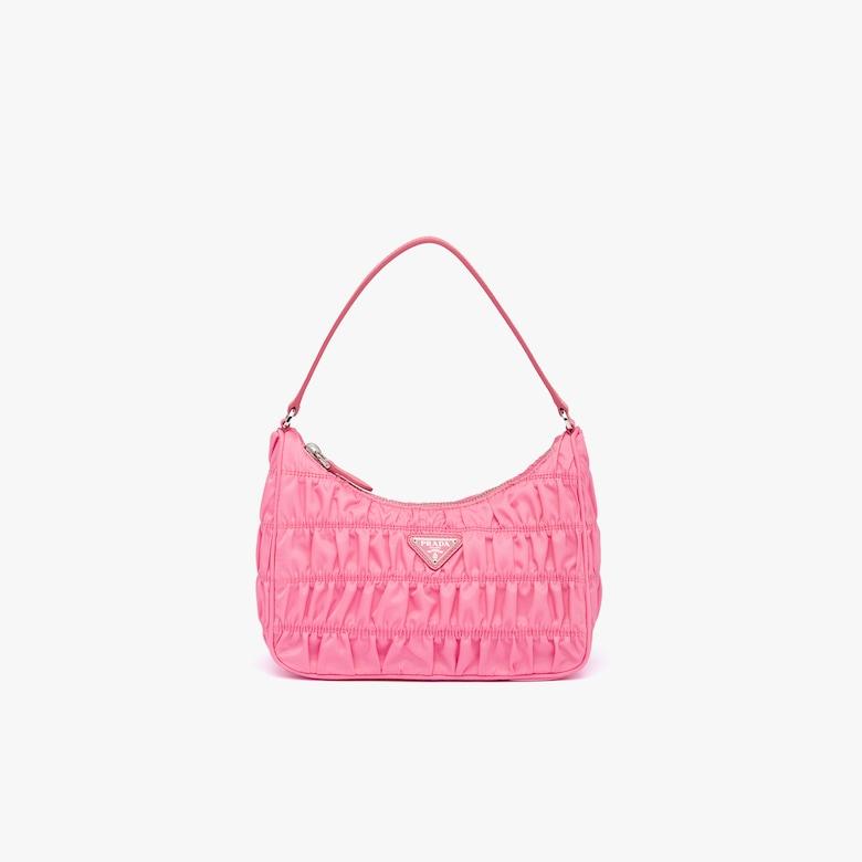 Prada Nylon and Saffiano leather mini bag - Woman
