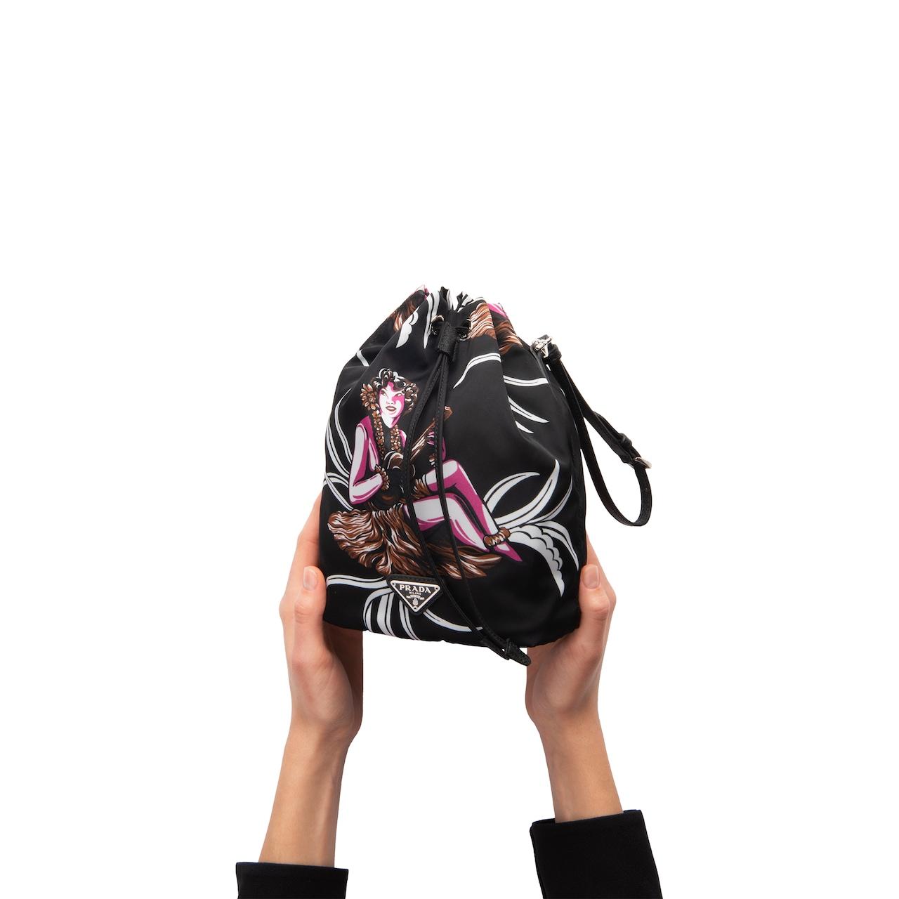 Prada Printed nylon pouch 3
