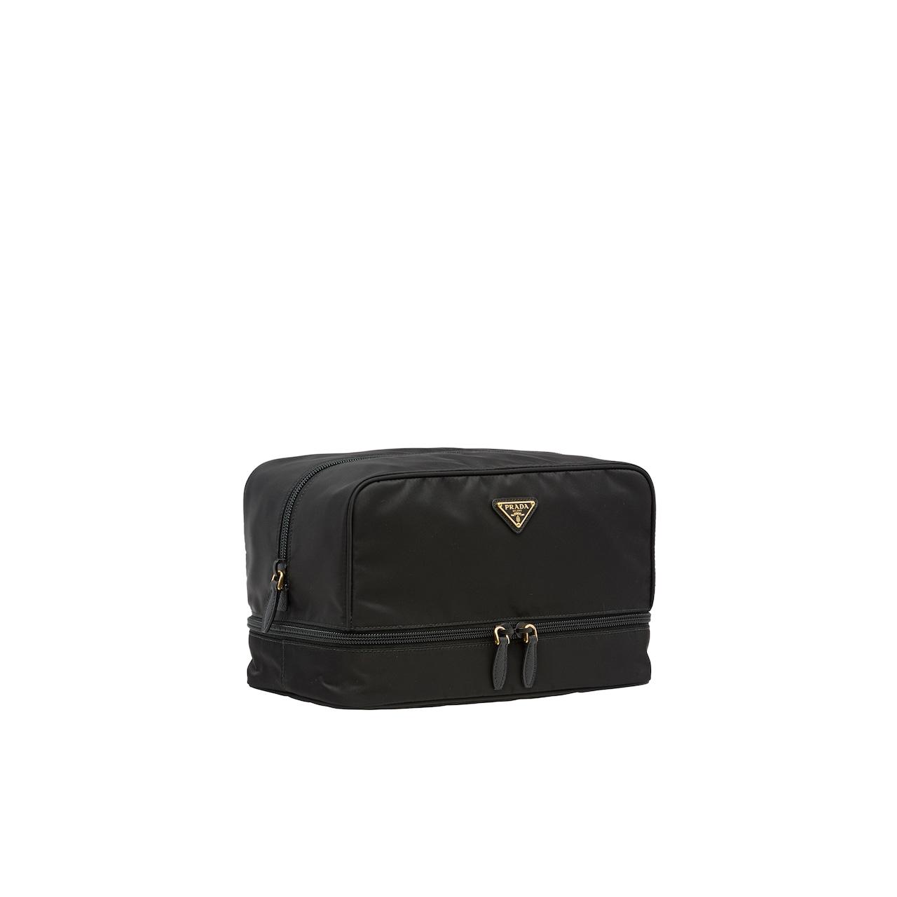 Nylon bag with jewelry case