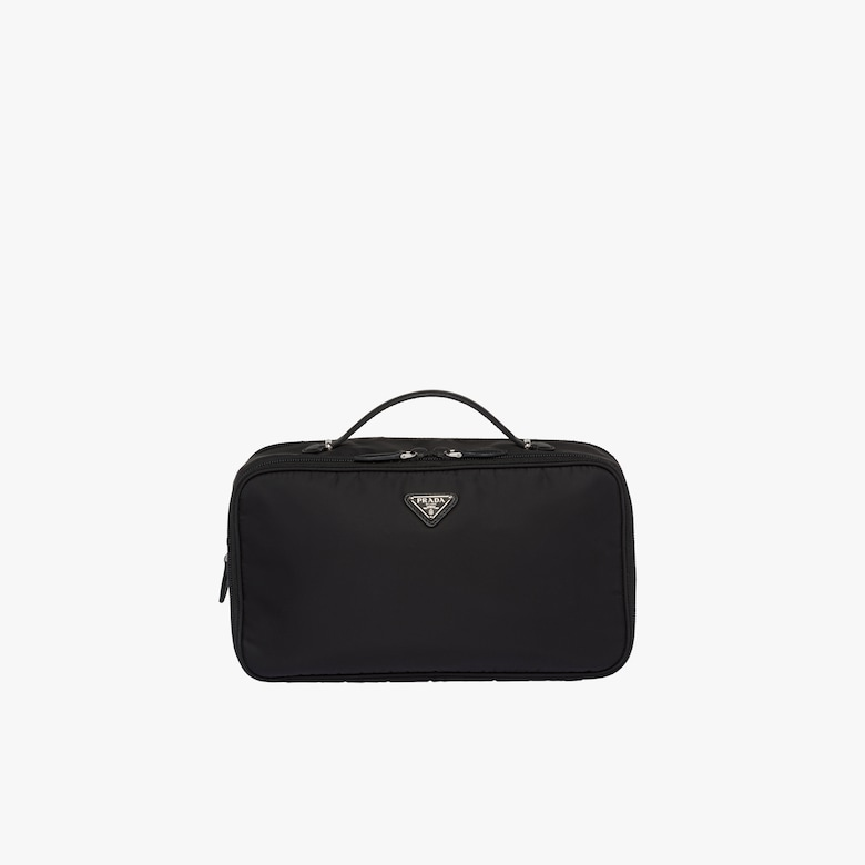 Prada Medium nylon cosmetic pouch - Woman