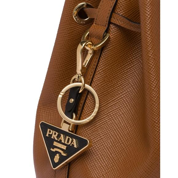 Prada Saffiano 皮革钥匙扣 2