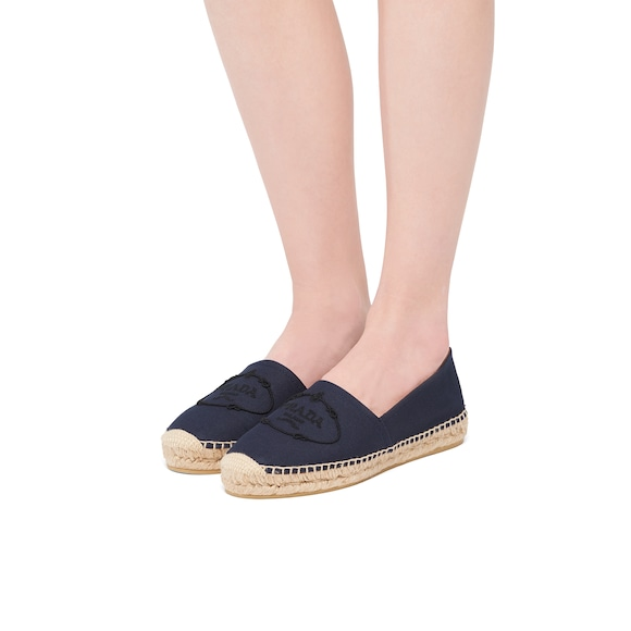 Prada 麻纤维平底鞋 2