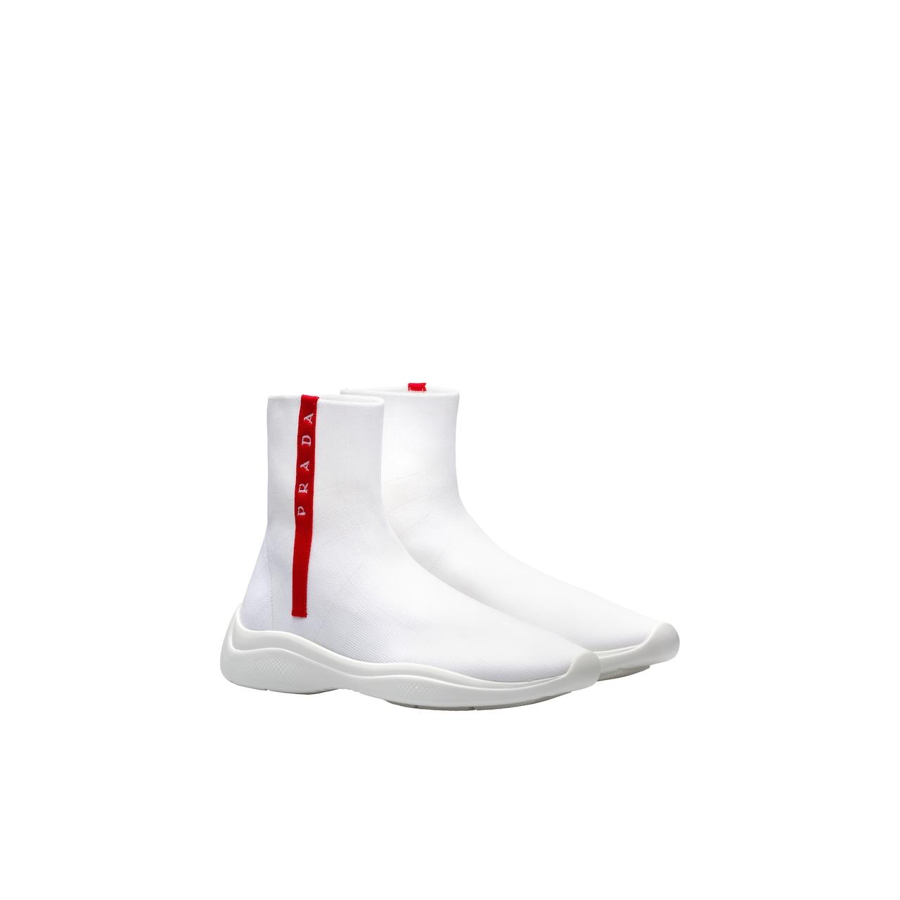 Prada Fabric high-top sneakers 1