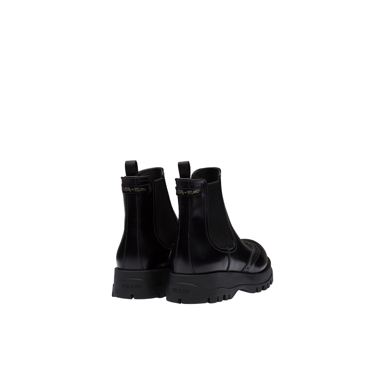Prada Brushed leather booties 5