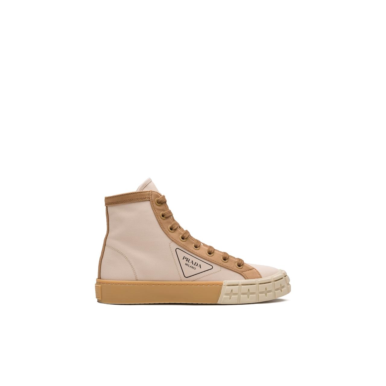 Prada Gabardine high-top sneakers 2