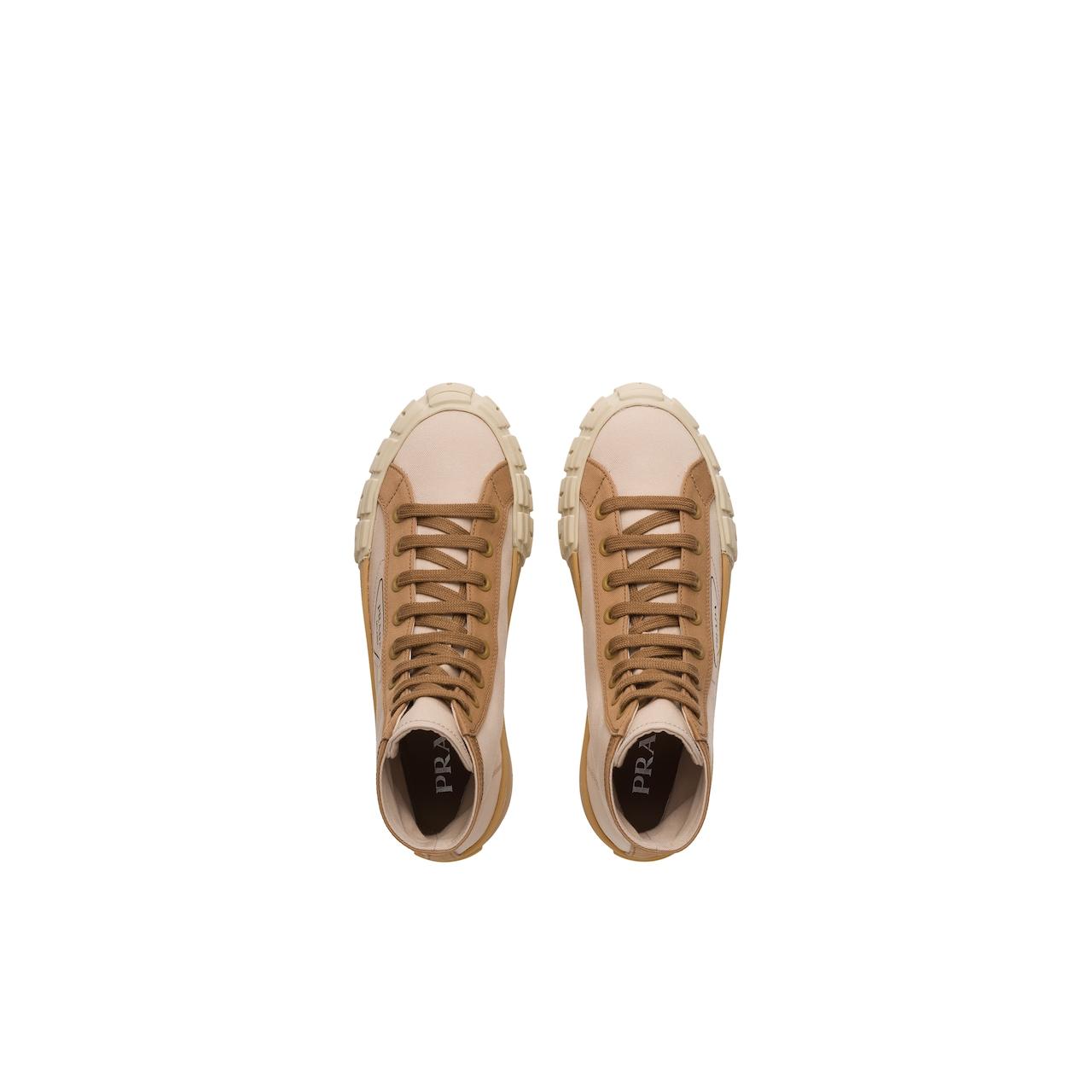 Prada Gabardine high-top sneakers 4