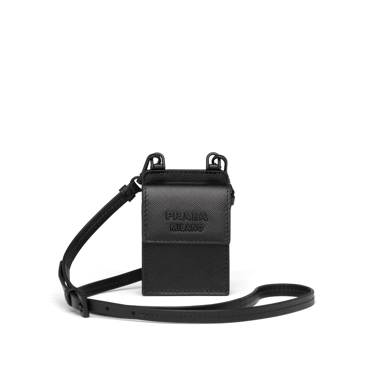 Prada Headphone case with shoulder strap 1