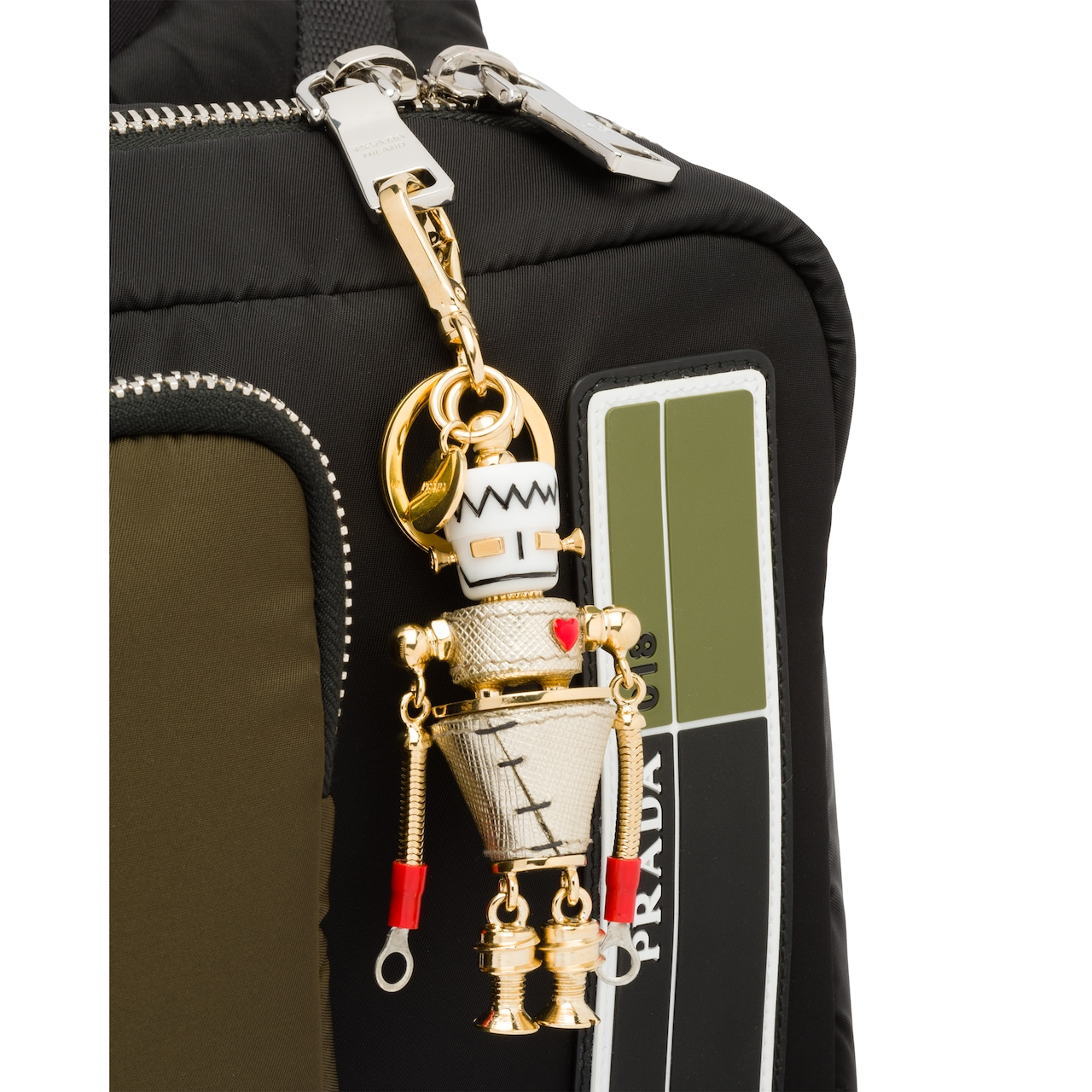 Prada 机器人钥匙扣挂饰 3