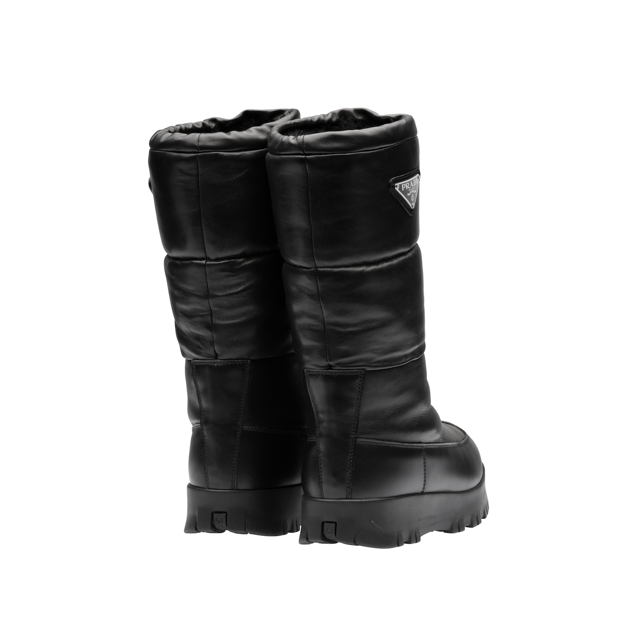 Nappa leather moon boots 3